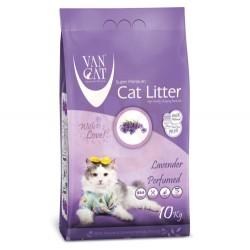VanCat - VanCat Lavanta Kokulu Kalın Taneli Kedi Kumu 10 Kg