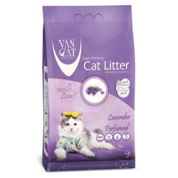 VanCat - VanCat Lavanta Kokulu Kalın Taneli Kedi Kumu 5 Kg