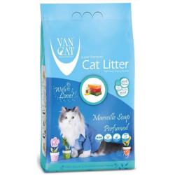VanCat - VanCat Marsilya Sabunlu Kalın Taneli Kedi Kumu 5 Kg