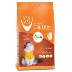 VanCat - VanCat Portakal Kokulu İnce Taneli Kedi Kumu 10 Kg