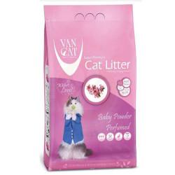 VanCat - VanCat Topaklanan Bebek Pudralı Kalın Taneli Kedi Kumu 5 Kg