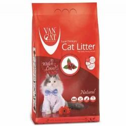 VanCat - VanCat Topaklanan Naturel Doğal Kalın Taneli Kedi Kumu 5 Kg