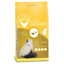 VanCat - VanCat Topaklanan Vanilyalı İnce Taneli Kedi Kumu 5 Kg