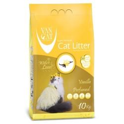 VanCat - VanCat Topaklanan Vanilyalı İnce Taneli Kedi Kumu 10 Kg