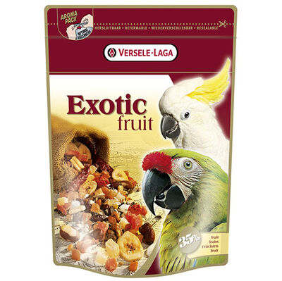 Versele Laga Exotic Fruits Papağanlar için Kuru Meyve Karışımı 600 Gr
