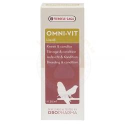 Versele-Laga - Versele Laga Oropharma Omni-Vit LIQUID (Üreme-Kondisyon Vitamini) 25 ML