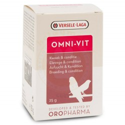 Versele-Laga - Versele Laga Oropharma Omni Vit (Üreme Kondisyon Vitamini) 200 Gr