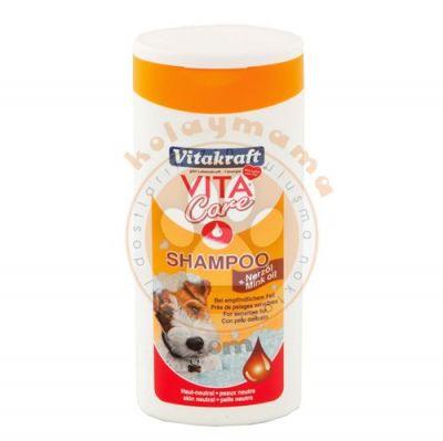 Vitakraft 13019 Vizon Yağı Köpek Şampuanı 250 ML