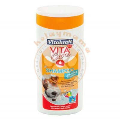 Vitakraft 13025 Protein ve Vitamin Katkılı Köpek Şampuanı 250 ML