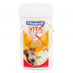 Vitakraft - Vitakraft 15893 Kulak ve Göz Temizleme Mendili PH0 (30 Adet)