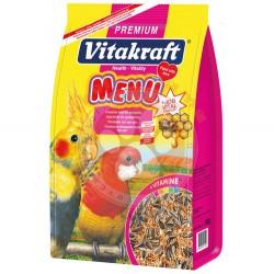 Vitakraft - Vitakraft 27030 Paraket Küçük Irk Papağan Yemi 1000 Gr