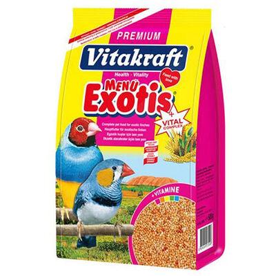 Vitakraft 27050 Exotic Finc Egzotik Kuşlar İçin Yem 500 Gr