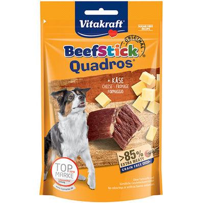 Vitakraft 28801 Quadros Biftek ve Peynirli Tahılsız Köpek Ödülü 70 Gr