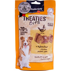 Vitakraft - Vitakraft 28808 Treaties Bits Tavuk Etli Yumuşak Köpek Ödülü 120 Gr