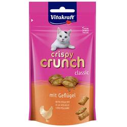 Vitakraft - Vitakraft 28814 Crispy Crunch Kümes Hayvanlı Kedi Ödülü 60 Gr