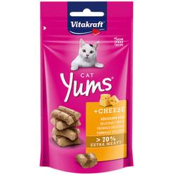 Vitakraft - Vitakraft 28821 Cat Yums Cheese Peynirli Kedi Ödülü 40 Gr