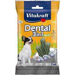 Vitakraft - Vitakraft 30890 Dental 3in1 Diş Sağlığı Köpek Ödülü 70 Gr (7 Sticks)