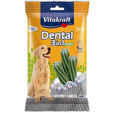 Vitakraft 30892 Dental 3in1 Diş Sağlığı Köpek Ödülü 180 Gr ( 7 Sticks )