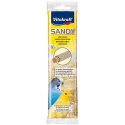 Vitakraft - Vitakraft 31002 Küçük Kuşlar İçin Kumlu Tünek 4'lü Paket