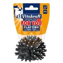Vitakraft - Vitakraft 39752 Vinyl Kirpi Sesli Köpek Oyuncağı