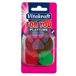 Vitakraft - Vitakraft 39898 PlayTime Vinyl Kedi Oyuncağı (4 lü Paket)
