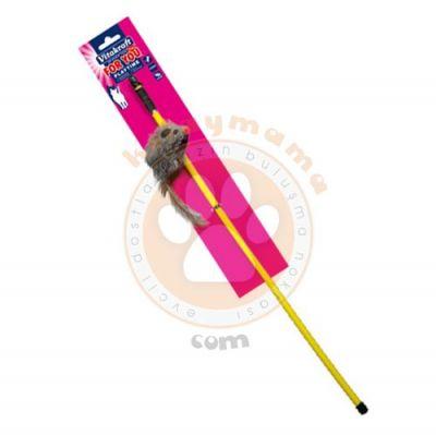 Vitakraft 39903 Peluş Fareli Kedi Oltası 50 Cm