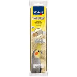 Vitakraft - Vitakraft Kuşlar İçin Kumlu Tünek 3lü Paket