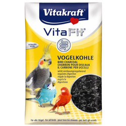 Vitakraft - Vitakraft Muhabbet ve Kanarya İçin Kömür 10 Gr