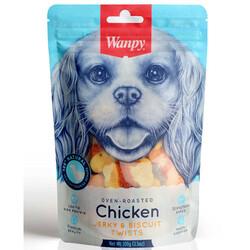 Wanpy - Wanpy Bisküvi Üzeri Tavuk Sargılı Köpek Ödül Bisküvisi 100 Gr