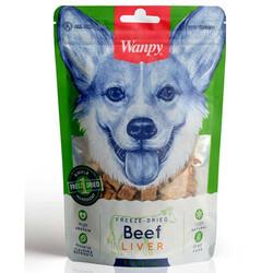 Wanpy - Wanpy Freeze-Dried Kurutulmuş Ciğer Natural Köpek Ödülü 40 Gr
