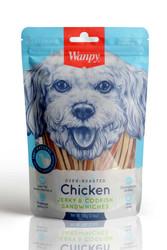 Wanpy - Wanpy Oven Roasted Tavuklu Morina Balıklı Köpek Ödülü 100 Gr