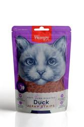 Wanpy - Wanpy Soft Oven Roasted Yumuşak Ördekli Kedi Ödülü 80 Gr