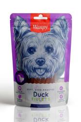 Wanpy - Wanpy Soft Oven Roasted Yumuşak Gerçek Ördek Fileto Köpek Ödülü 100 Gr