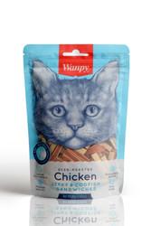 Wanpy - Wanpy Oven Roasted Tavuklu Morina Balıklı Sandviç Kedi Ödülü 80 Gr