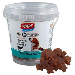 Warf - Warf 6080 Mini Trainer Biftek Etli Yumuşak Küçük Irk Köpek Ödülü 170 Gr