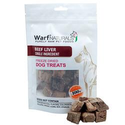 Warf - Warf Naturals Biftek (Dana) Ciğeri Kurutulmuş Köpek Ödülü 40 Gr