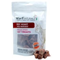 Warf - Warf Naturals Biftek (Dana) Yüreği Kurutulmuş Kedi Ödülü 40 Gr