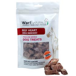 Warf - Warf Naturals Biftek ( Dana ) Yüreği Kurutulmuş Köpek Ödülü 40 Gr