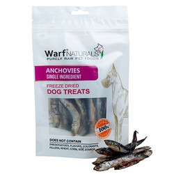 Warf - Warf Naturals Hamsili Kurutulmuş Köpek Ödülü 40 Gr