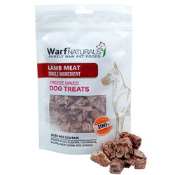 Warf - Warf Naturals Kuzu Etli Kurutulmuş Köpek Ödülü 40 Gr