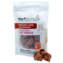 Warf - Warf Naturals Tavuk Ciğeri Kurutulmuş Kedi Ödülü 40 Gr