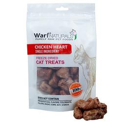 Warf - Warf Naturals Tavuk Yüreği Kurutulmuş Kedi Ödülü 40 Gr