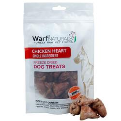 Warf - Warf Naturals Tavuk Yüreği Kurutulmuş Köpek Ödülü 40 Gr