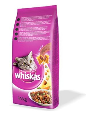 Whiskas Biftek ve Havuçlu Kedi Maması 14 Kg