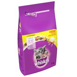 Whiskas - Whiskas Chicken Kitten Yavru Tavuklu Kedi Maması 2 Kg