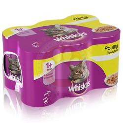 Whiskas - Whiskas Gravy Soslu Tavuk Etli Kedi Konservesi 400 Gr - (12 Adet x 400 Gr)