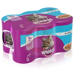 Whiskas - Whiskas Jöle İçinde Ton Balıklı Kedi Konservesi 400 Gr-(12 Adetx400 Gr)