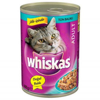 Whiskas Jöle İçinde Ton Balıklı Kedi Konservesi 400 Gr