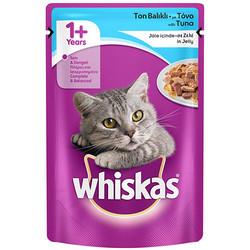 Whiskas - Whiskas Pouch Jöleli Ton Balıklı Kedi Maması 100 Gr