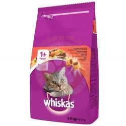 Whiskas - Whiskas Sığır Eti ve Sebzeli Kedi Maması 3,8 Kg